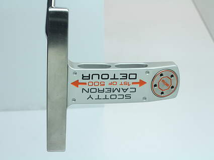 Titleist Scotty Cameron 1st of 500 Detour Putter Stock Steel Shaft Steel Right Handed 34 in