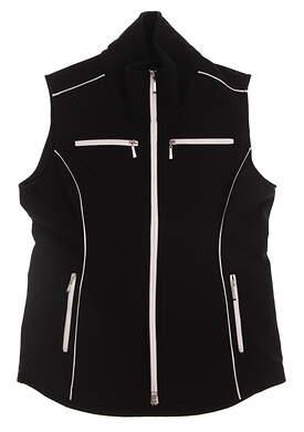 New Womens Jo Fit Golf Jacket Medium M Black MSRP $148 690148