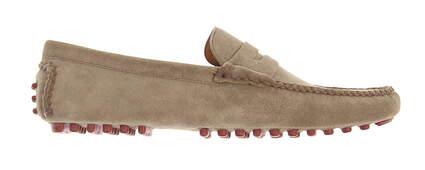 New Mens Golf Shoe Peter Millar Loafer Medium 10 Brown MSRP $300
