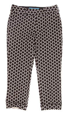 New Womens Lizzie Driver Golf Pants Size 2 Brown MSRP $150