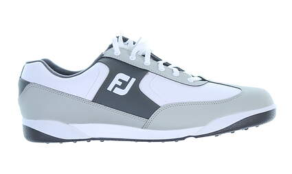 New Mens Golf Shoe Footjoy Greenjoys Medium 11.5 Gray MSRP $120