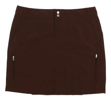 New Womens Ralph Lauren Golf Skort Size 6 Brown MSRP $90