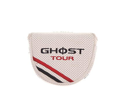 TaylorMade Ghost Tour Corza Mallet Putter Headcover White/Black/Red