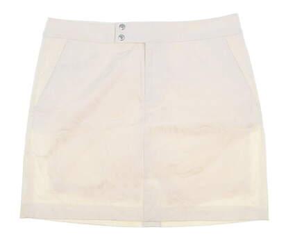 New Womens Ralph Lauren Golf Skort Size 8 Ivory MSRP $145
