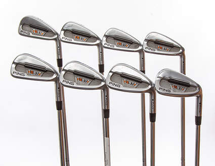 Ping S57 Iron Set 3-PW True Temper Dynamic Gold S300 Steel Stiff Right Handed Black Dot 38.25 in