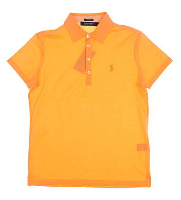 New Womens Ralph Lauren Golf Polo Medium M Orange MSRP $85