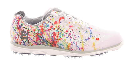 New Womens Golf Shoe Footjoy emPOWER Medium 8.5 White MSRP $120