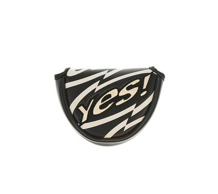 Yes! C-Groove Center Shaft Mallet Putter Headcover Black/White