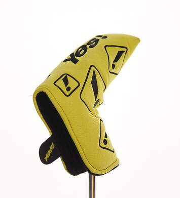 Yes! Exclamation Blade Putter Headcover Yellow/Black