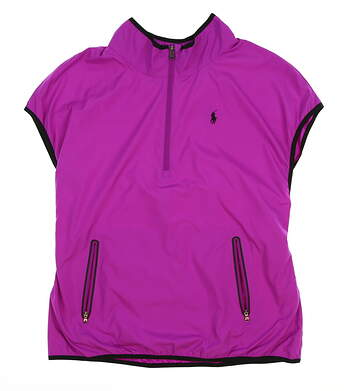 New Womens Ralph Lauren Golf Vest Small S Purple MSRP $90
