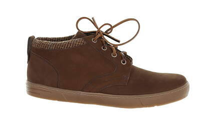 New Mens Golf Shoe Peter Millar Appalachian Chukka Medium 9.5 Brown MSRP $245 MF17F14