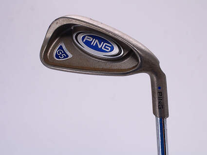Ping G5 Single Iron 6 Iron Ping Z-Z65 with Cushin Insert Steel Stiff Right Handed Blue Dot 37.75 in