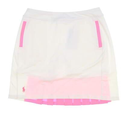 New Womens Ralph Lauren Golf Skort Size Medium M White MSRP $125 281639831002