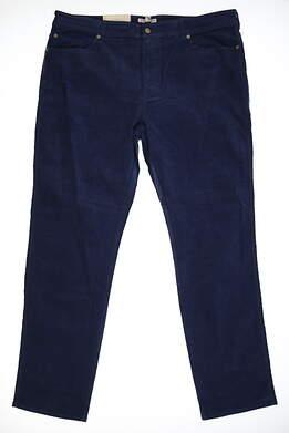 New Mens Peter Millar Corduroy Golf Pants 40x36 Blue MSRP $146 MF16B92