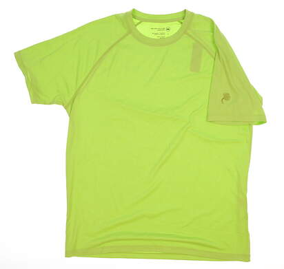 New Mens Peter Millar T-Shirt Large L Green MSRP $46 MF17EK95
