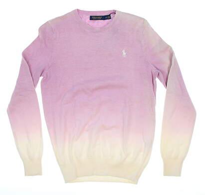New Womens Ralph Lauren Golf Sweater Medium M Purple MSRP $199