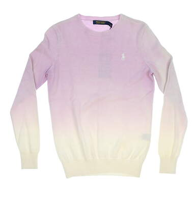 New Womens Ralph Lauren Golf Sweater Small S Purple MSRP $199