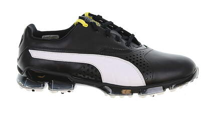New Mens Golf Shoe Puma Titantour 9.5 Black/White MSRP $200