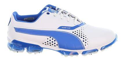 New Mens Golf Shoe Puma Titantour 11 White/Blue MSRP $200