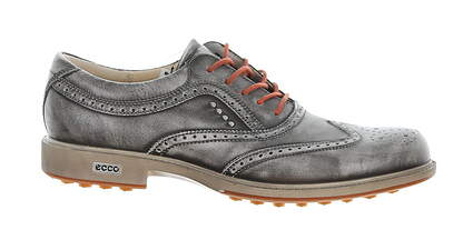 New Mens Golf Shoe Ecco Tour Hybrid 7-7.5 Gray MSRP $280