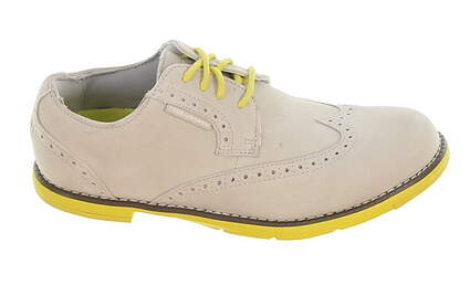 New Womens Golf Shoe True Linkswear TRUE Dame Leather 7 Gray MSRP $120