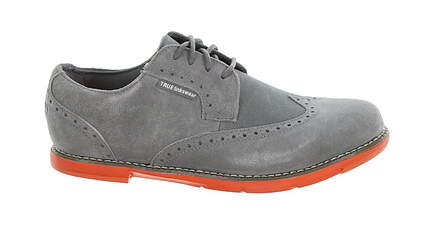 New Womens Golf Shoe True Linkswear TRUE Dame Leather 9.5 Gray MSRP $120