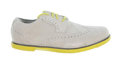 New Womens Golf Shoe True Linkswear TRUE Dame Leather 8.5 Gray MSRP $120