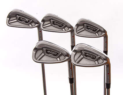 Ping Anser Forged 2013 Iron Set 6-PW Stock Steel Shaft Steel Regular Right Handed Red dot 37.75 in