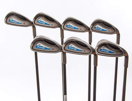 Ping G2 Iron Set 4-PW Ping TFC 100I Graphite Stiff Right Handed Black Dot 38 in