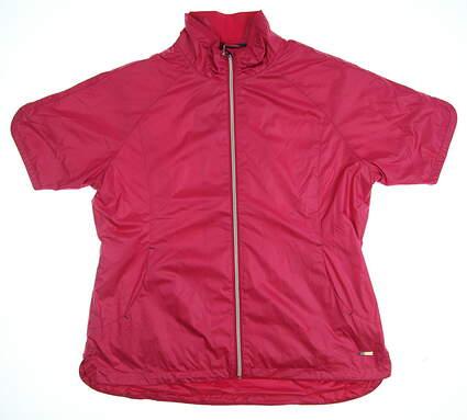 New Womens SUNICE Britanny Short Sleeve Jacket X-Large XL Pink MSRP $90 S53502