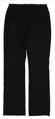 New Womens Jo Fit Golf Pants Size Small S Black MSRP $102 UB023