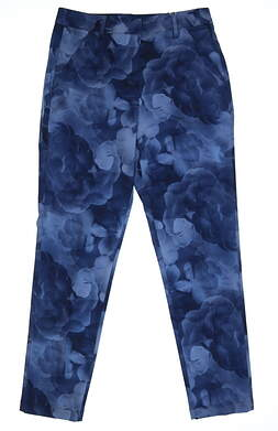 New Womens Puma Golf Pants Size 2 Blue MSRP $90 572331