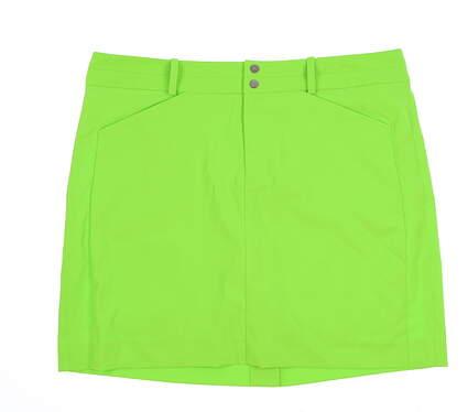 New Womens Ralph Lauren Golf Skort Size 10 Lime Green MSRP $125 281639777001