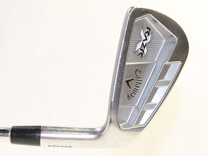 Callaway Razr X Forged Single Iron 6 Iron Project X Flighted 6.5 Steel X-Stiff Right Handed 37.5 in