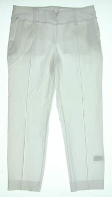 New Womens Jo Fit Golf Pants Size X-Large XL White MSRP $96 GB032