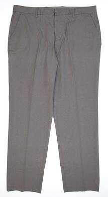 New Mens Adidas Golf Pants 38x32 Gray MSRP $110 BC7605