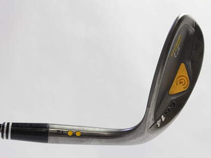 Cleveland CG14 Gunmetal Wedge Lob LW 60* 12 Deg Bounce Cleveland Traction Wedge Steel Wedge Flex Right Handed 35.5 in