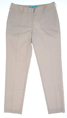 New Womens Lizzie Driver Golf Pants Size 10 Tan MSRP $110