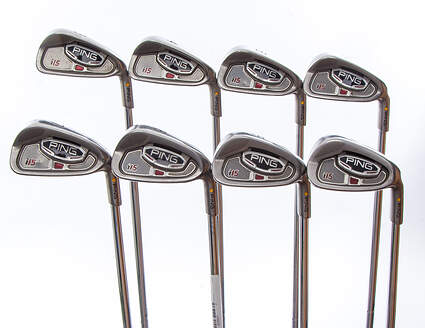 Ping i15 Iron Set 3-PW Ping AWT Steel Stiff Right Handed Yellow Dot 37.75 in