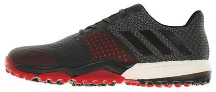 New Mens Golf Shoe Adidas Adipower Sport Boost 3 Medium 11 Black/Red MSRP $130