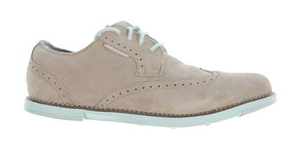 New Womens Golf Shoe True Linkswear TRUE Dame Wingtip Suede Leather 7 Gray MSRP $120