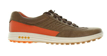 New Mens Golf Shoe Ecco Street Evo One 12-12.5 Brown MSRP $240