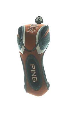 Ping G10 7 Fairway Wood Headcover Orange/Grey/Black