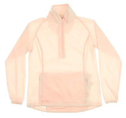 New Womens Peter Millar Golf Long Sleeve Small S Pink MSRP $89 LS17EZ20