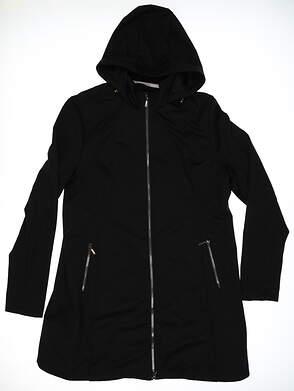 New Womens SUNICE Golf Jacket X-Large XL Black MSRP $150 S00357