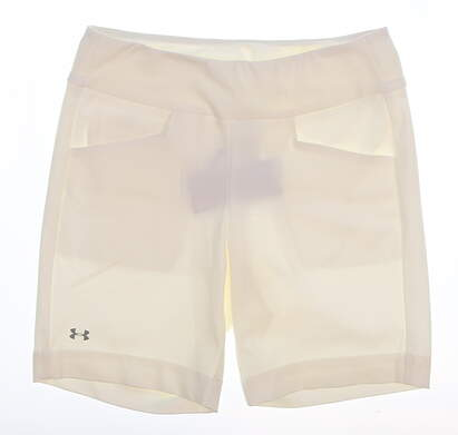 New Womens Under Armour Golf Skort Size Medium M White MSRP $64 UW6670