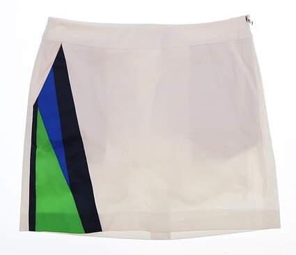 New Womens Ralph Lauren Golf Skort Size 2 White MSRP $115