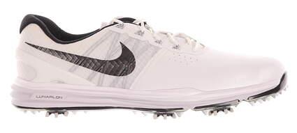 New Mens Golf Shoe Nike Lunar Control III 10 White/Black/Grey MSRP $240