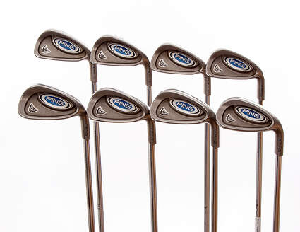 Ping i5 Iron Set 4-PW SW Ping AWT Steel Stiff Right Handed Blue Dot