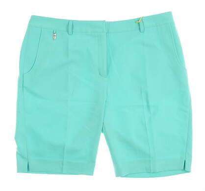 New Womens Sport Haley Golf Shorts Size 12 Green MSRP $54 WD021030